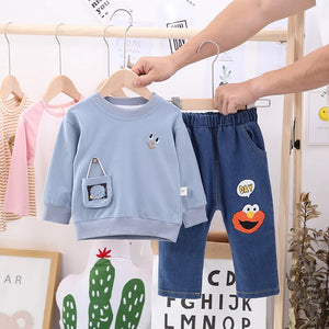 Boys Shirt & Denim Pants - Mom and Bebe Ph