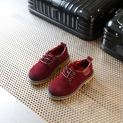Red Kids Boots