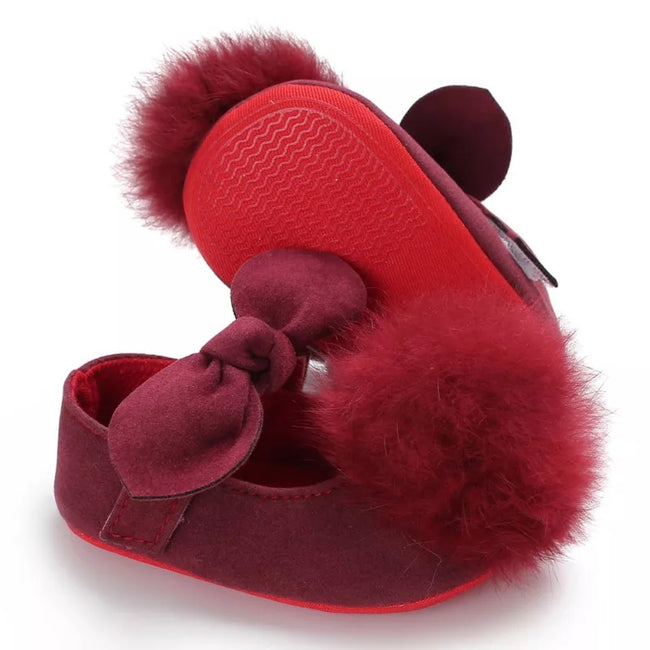 Infant Baby Fur Shoes