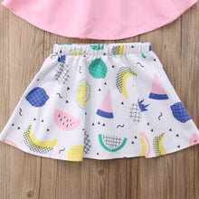 Load image into Gallery viewer, Pink Top & Fruit Skirt - Mom and Bebe Ph