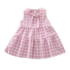 Pink Plaid Dress - Mom and Bebe Ph