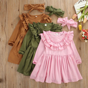 Dress w/ Headband - Mom and Bebe Ph