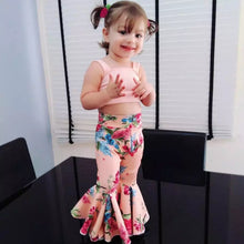 Load image into Gallery viewer, Top & Floral Wide Leg Pants - Mom and Bebe Ph
