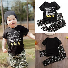 Load image into Gallery viewer, Statement Shirt & Camouflage Pants - Mom and Bebe Ph