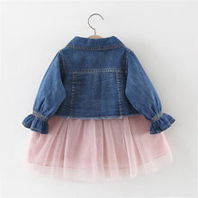 Load image into Gallery viewer, Denim Jacket + Dress Set - Mom and Bebe Ph
