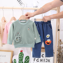 Load image into Gallery viewer, Boys Shirt & Denim Pants - Mom and Bebe Ph