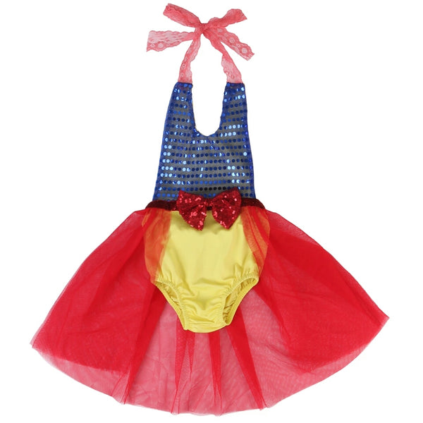 Snow white tutu romper