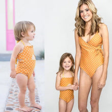 Load image into Gallery viewer, Orange Dotted Bikini - Mom and Bebe Ph