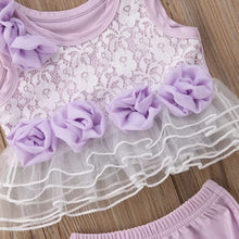 Load image into Gallery viewer, Purple Top & Shorts Set - Mom and Bebe Ph