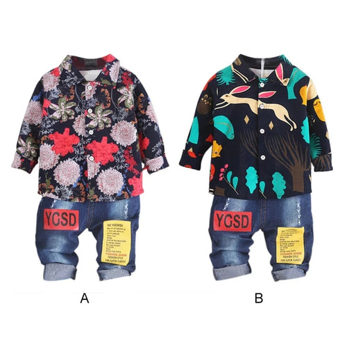 Fun Prints Little Boy Suit - Mom and Bebe Ph