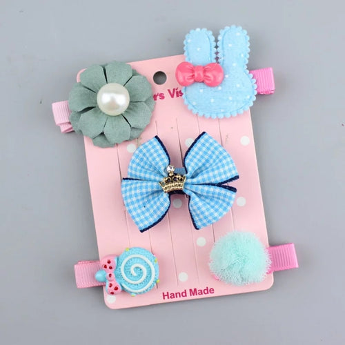 5pcs/Set Hair Clips - Mom and Bebe Ph