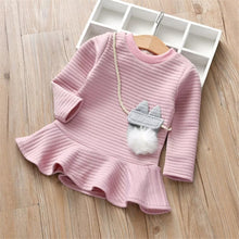 Load image into Gallery viewer, Long Sleeves Short Dress - Mom and Bebe Ph