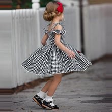 Load image into Gallery viewer, Plaid Dress Bow Details - Mom and Bebe Ph