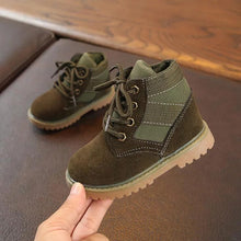 Load image into Gallery viewer, Army Green Kids Boots 21-30 - Mom and Bebe Ph