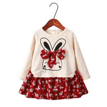 Load image into Gallery viewer, Long Sleeves Bunny One-piece Dress - Mom and Bebe Ph