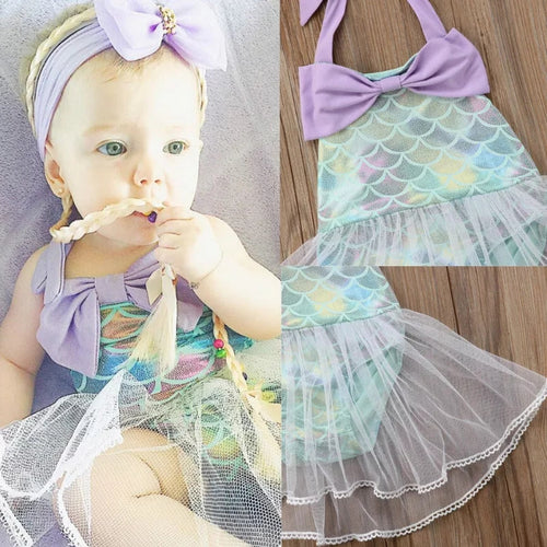 Mermaid Dress Tutu Swimsuit - Mom and Bebe Ph