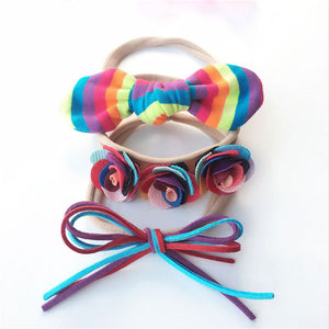 Colorful Set Headbands 3pcs - Mom and Bebe Ph