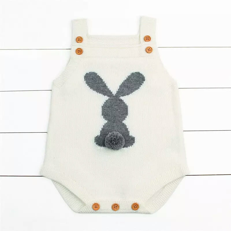 Knitted Wool Jumper [white] - Mom and Bebe Ph