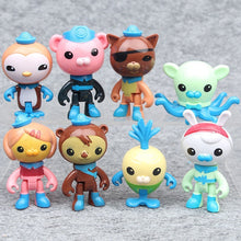 Load image into Gallery viewer, Octonauts 8 Pcs Collectibles