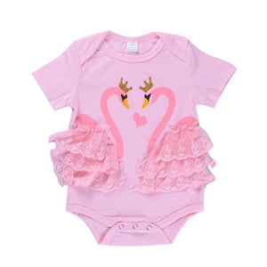 Pink Swan Bodysuit - Mom and Bebe Ph