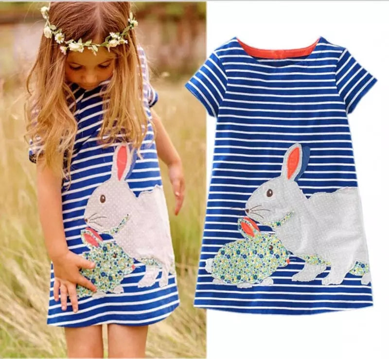 Rabbit Shirt Dress - Mom and Bebe Ph