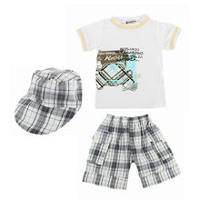 Load image into Gallery viewer, 3pc Set Top Shorts Hat - Mom and Bebe Ph