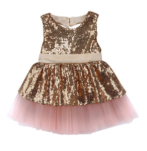 Catherine Dress (Champagne) - Mom and Bebe Ph