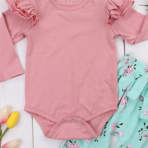 Baby Girls Outfit 3pcs Set - Mom and Bebe Ph