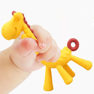 Giraffe Silicon Teether