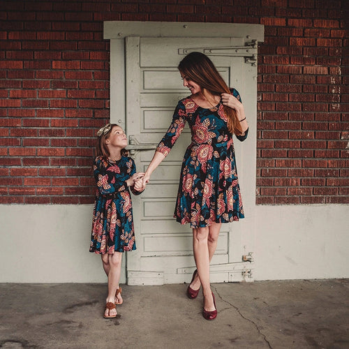 Mom-Daughter Dress - Mom and Bebe Ph