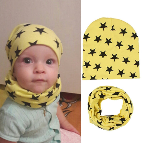 Bonnet+Bib Accessories Boys Girls - Mom and Bebe Ph