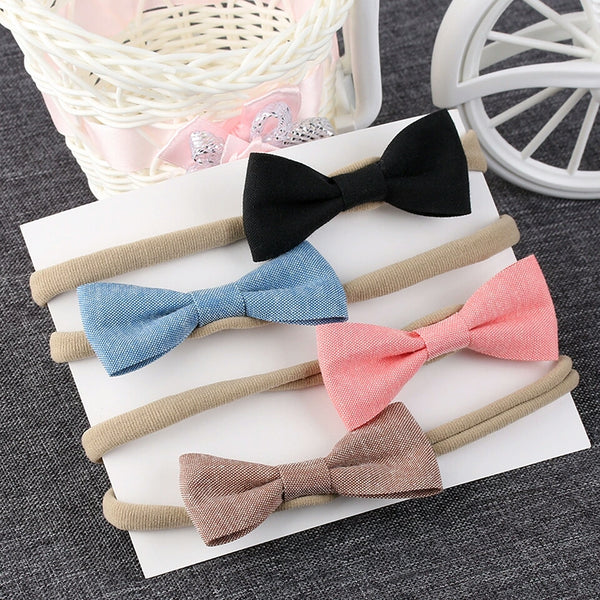 4pcs Bow Headband