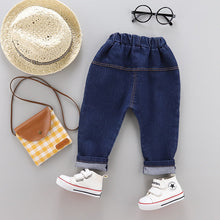 Load image into Gallery viewer, Stripes Polo & Denim Pants - Mom and Bebe Ph