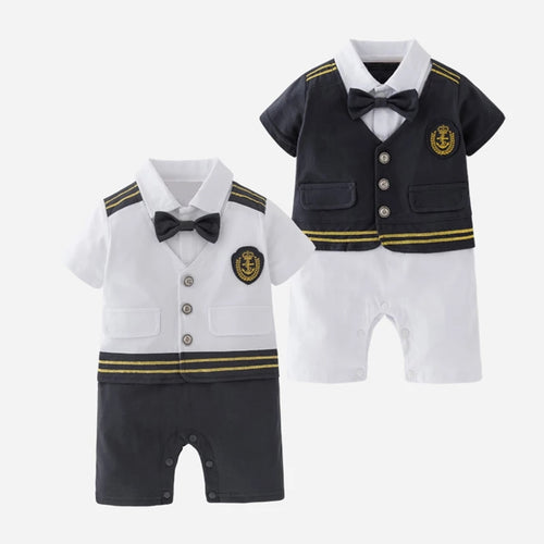 Little Captain Romper - Mom and Bebe Ph