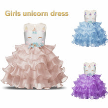 Load image into Gallery viewer, Unicorn Ruffles Dress - Mom and Bebe Ph