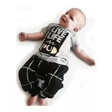 Load image into Gallery viewer, Live Life Loud Top and Pants - Mom and Bebe Ph