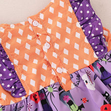 Load image into Gallery viewer, Pumpkin Halloween Dress - Mom and Bebe Ph