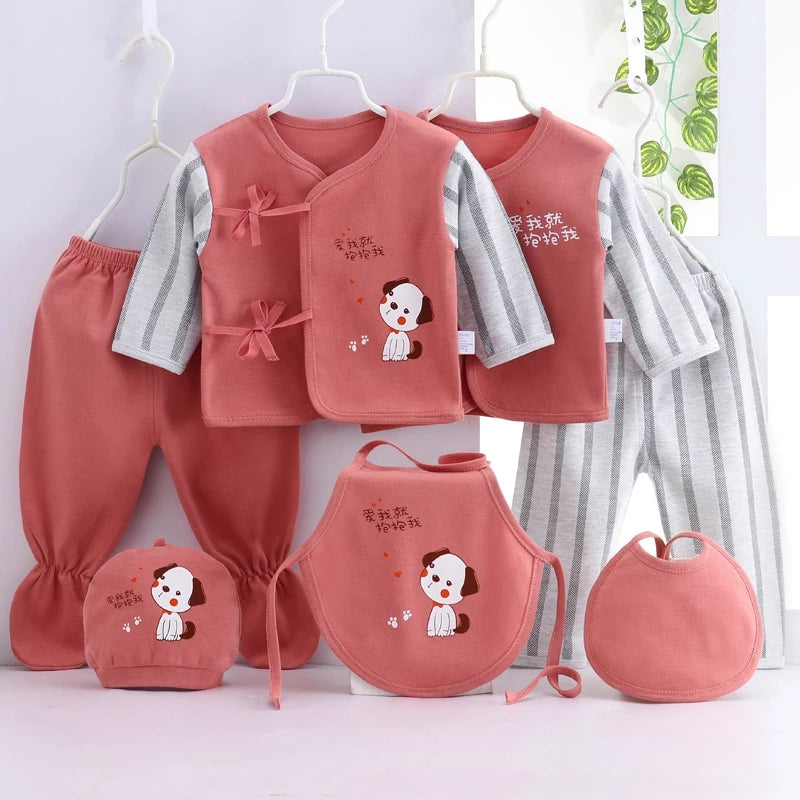 7pcs Newborn Clothing