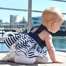 Load image into Gallery viewer, Stripe Short Dress Top & Shorts - Mom and Bebe Ph