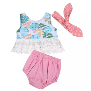 3pcs Set Outfit Bunny - Mom and Bebe Ph