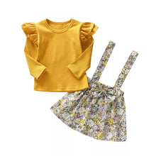Load image into Gallery viewer, Yellow Top Strap Skirt - Mom and Bebe Ph