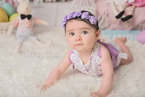 Purple Jumpsuit Romper - Mom and Bebe Ph