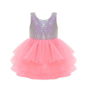 Sequin White Tutu Dress - Mom and Bebe Ph