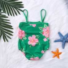 Load image into Gallery viewer, Green Floral Swimsuit - Mom and Bebe Ph