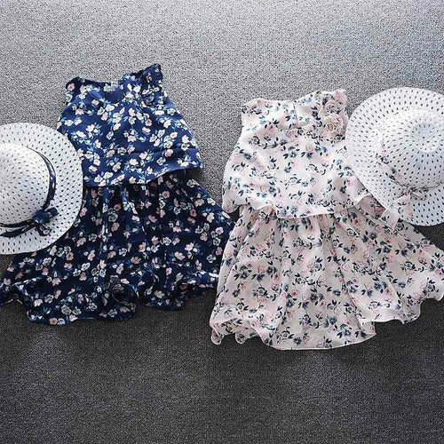 Hannah Kids Dress & Hat