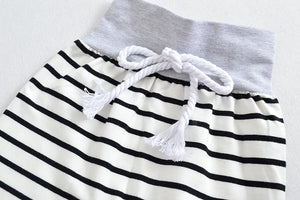 Stripe Hooded Sweater Pants - Mom and Bebe Ph