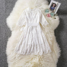 Load image into Gallery viewer, Naila Dress White - Mom and Bebe Ph