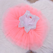 Load image into Gallery viewer, Sequin White Tutu Dress - Mom and Bebe Ph