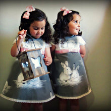 Load image into Gallery viewer, White Rabbit Dress - Mom and Bebe Ph
