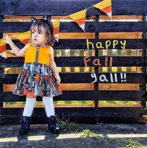 Liza Halloween Dress 1-4T - Mom and Bebe Ph